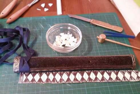 Wrapping a Katana Ito Tsukamaki Tutorial