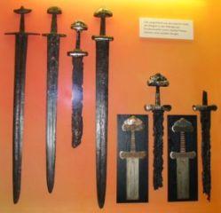 Actual antique Viking Swords
