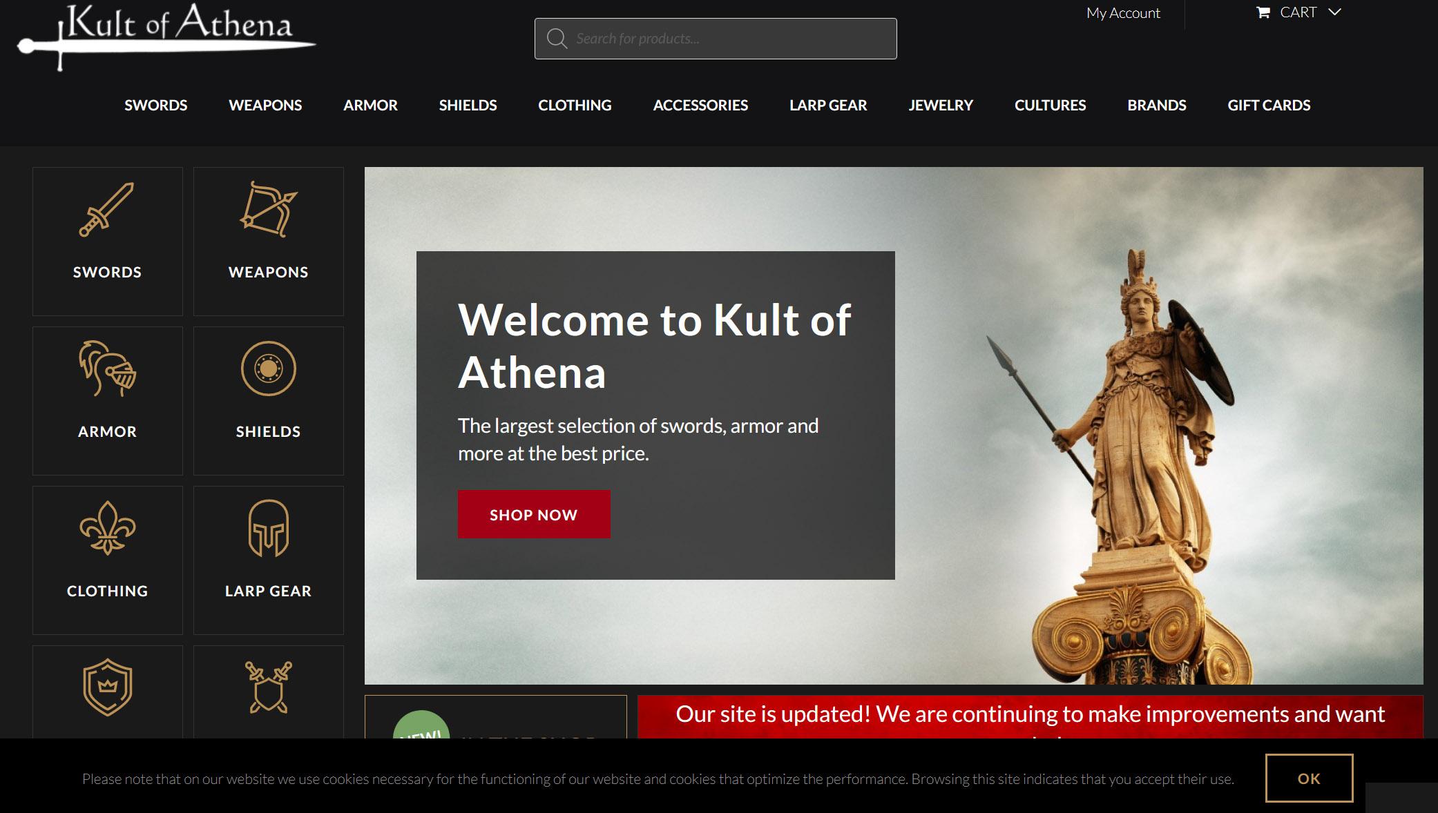 Kult of Athena Customer Feedback