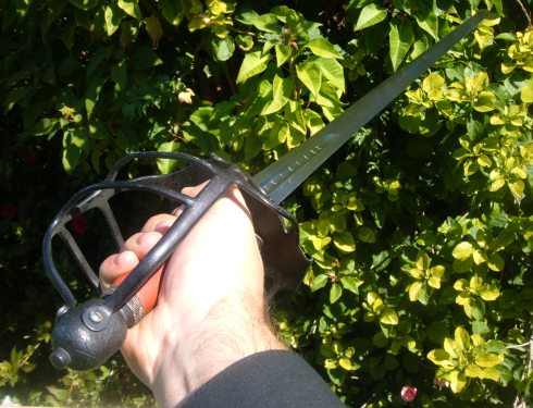 Mortuary Sword in Hand