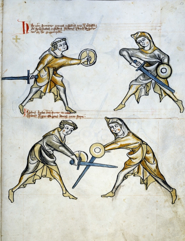 One of the earliest known surviving sword manuals
