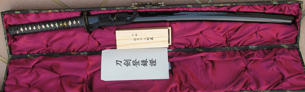 Ryujin Choji Hamon High Polish Custom Katana