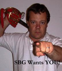 SBG Wants YOU!