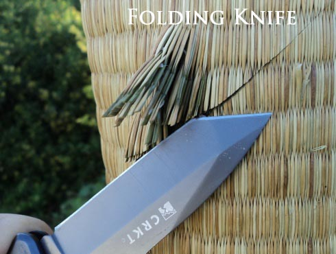 Folding Knife vs Tatami