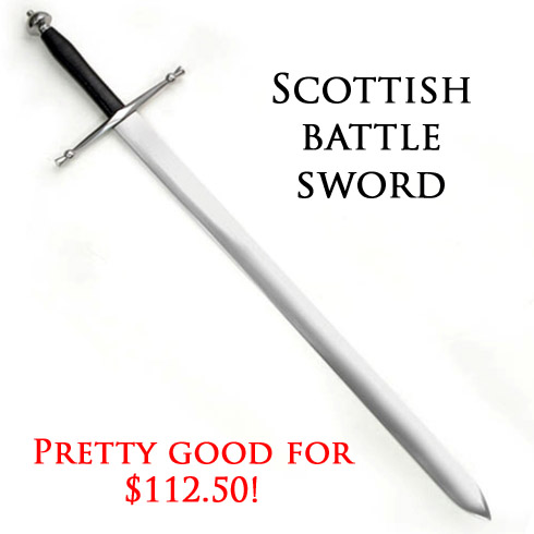 MRL Scottish Battle Sword