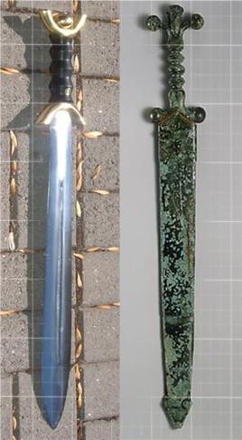 celtic sword: