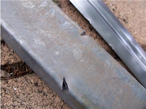 Sword versus steel