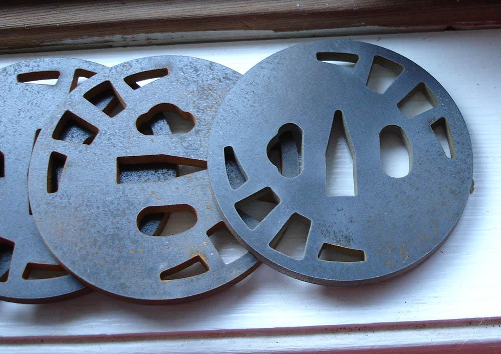 japanese sword seppa for iaito circular 1//64 in