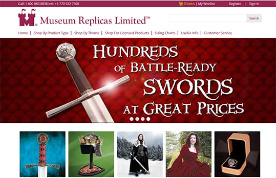 Museum Replicas Coupon Code and Customer Reviews