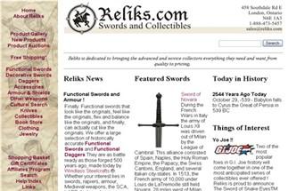 Swords for Sale in Canada