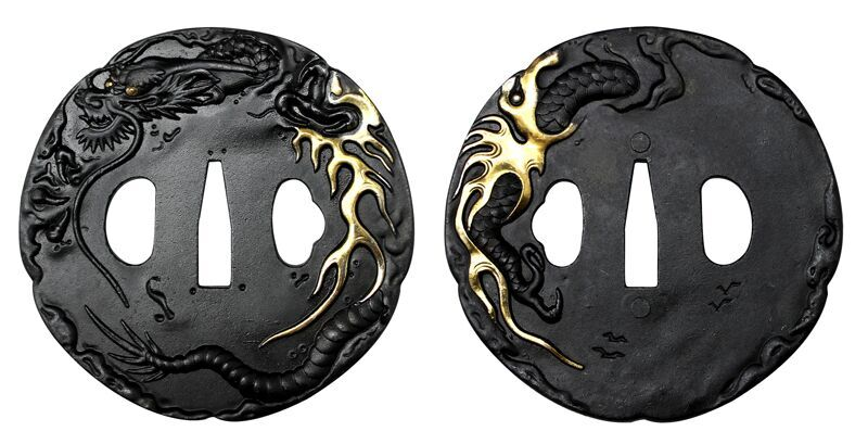 Ryujin Dragon Tsuba